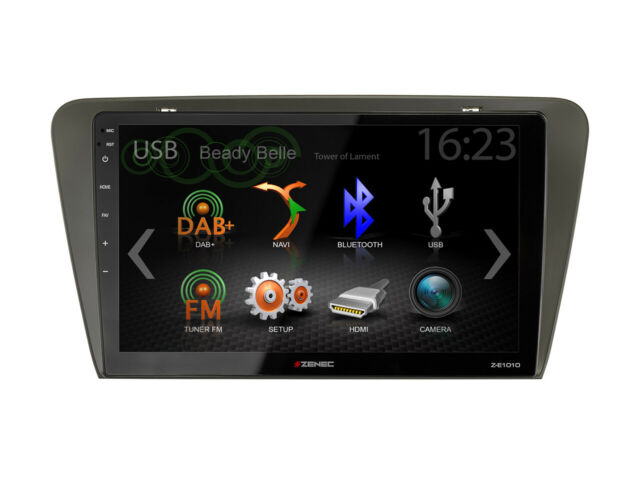 For Skoda Octavia 3 5E Car Radio GPS UKW DAB+ USB Bluetooth Android Car