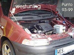 Motor-Haubenlifter-Fiat-Punto-1-Typ-176-93-99-Paar-Hoodlift-Motorhaubenlift