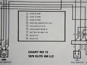 Details about Original 1979 ardier Ski-Doo Elite 450 L/C Electrical on honda rancher 350 schematics, husqvarna schematics, computer schematics, arctic cat snowmobile schematics, suzuki schematics,