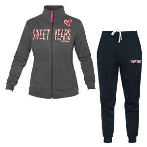 Tuta-Donna-Homewear-SWEET-YEARS-Cotone-Felpato-Vari-Modelli