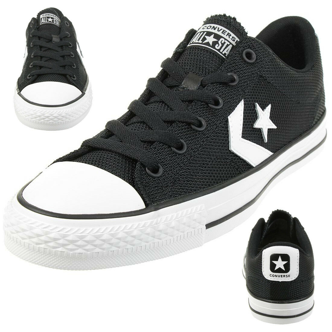 Converse Star Player Ox shoes Trainers 160581c Black