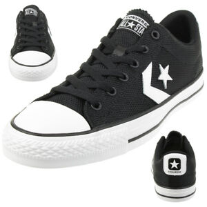 Details about Converse Star Player Ox Shoes Trainers 160581C Black