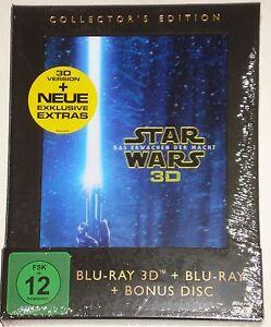Star Wars: Das Erwachen der Macht Collectors Edition Blu Ray 3D +2D + Bonus