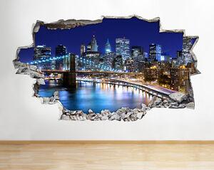 R848 Paysage Coucher de soleil nature Living Fenêtre Applique Murale 3D Art Stickers Vinyl Chambre