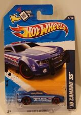 Hot Wheels 2012 HW City Works '10 Chevy Camaro SS Blue KMART Exclusive POLICE