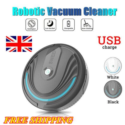 Rechargeable Smart Robot Vacuum Floor Cleaner Auto Sweeper Cleaner USB