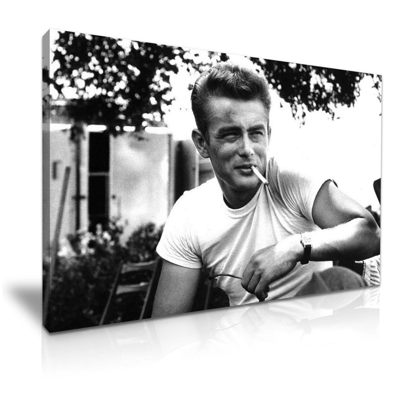 James Dean Mur icône Moderne Mur Dean Art Toile imprimer encadrée ~ de nombreuses tailles 485c5b