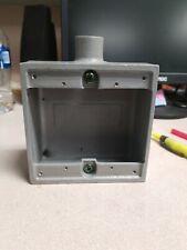 Hubbell Killark 2fs 1 Device Boxflushswitchfit12 Hub2fs 1 Vol 32 Cu In