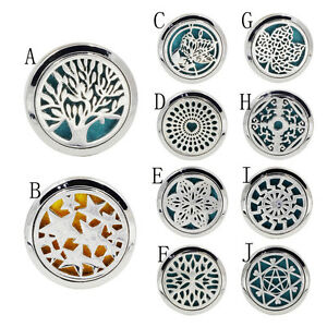 10-Style-Stainless-Car-Air-Vent-Freshener-Essential-Oil-Diffuser-Locket-Car-Gift