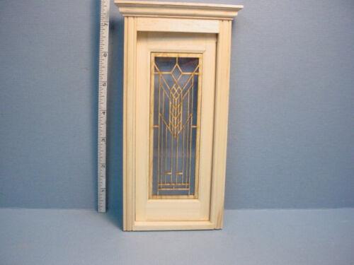 Decorative Glazed Door Mullion  #CD Dollhouse Miniature