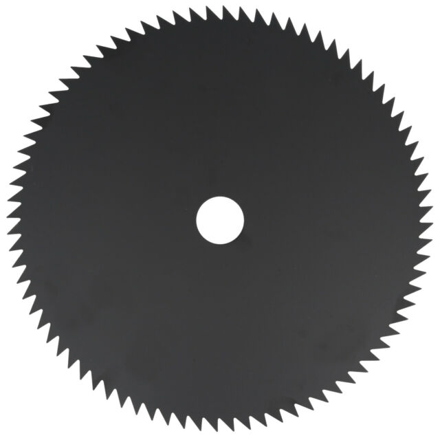 """Brush Cutter Blade Strimmer Metal Disc 254mm 25.4mm Bore Petrol 3 Tooth 10/"""" UK"""