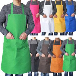 Adjustable-Bib-Apron-Dress-Men-Women-Kitchen-Restaurant-Chef-Classic-Cooking-Bib