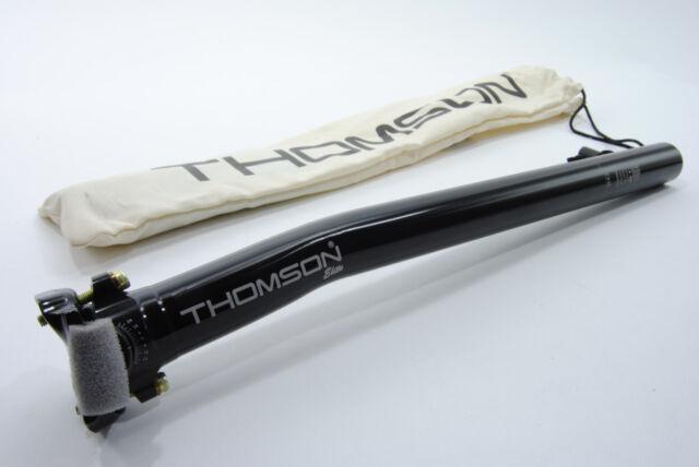 Thomson Elite 20mm Setback Bicycle Seat Post 31.6mm 410mm SP-E116SB-BK