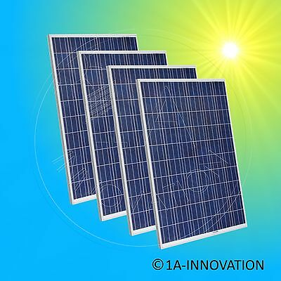 4x Axitec 330w Solarmodul Photovoltaikmodul 1,3kw 330 Watt Solaranlage 1300 Watt Relieving Rheumatism And Cold Solarenergie