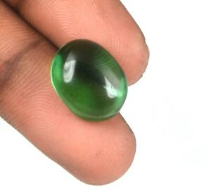 Muzo Colombian Emerald 10.05 Ct VS Clarity Natural Oval Cabochon Certified G6819