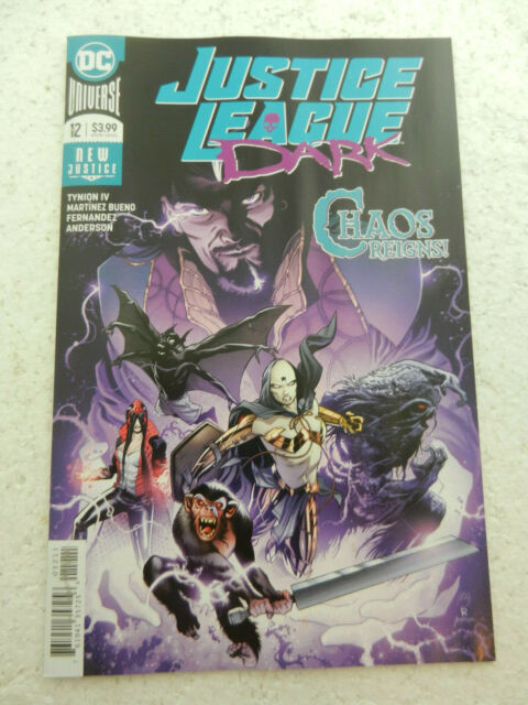 Justice League Dark #12 Wonder Woman 2019 NM 9.4 1st Print DC Comics