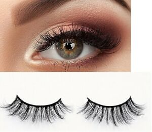NEW-10Pairs-3D-Mink-False-Eyelashes-Wispy-Cross-Long-Thick-Soft-Fake-Eye-Lashes