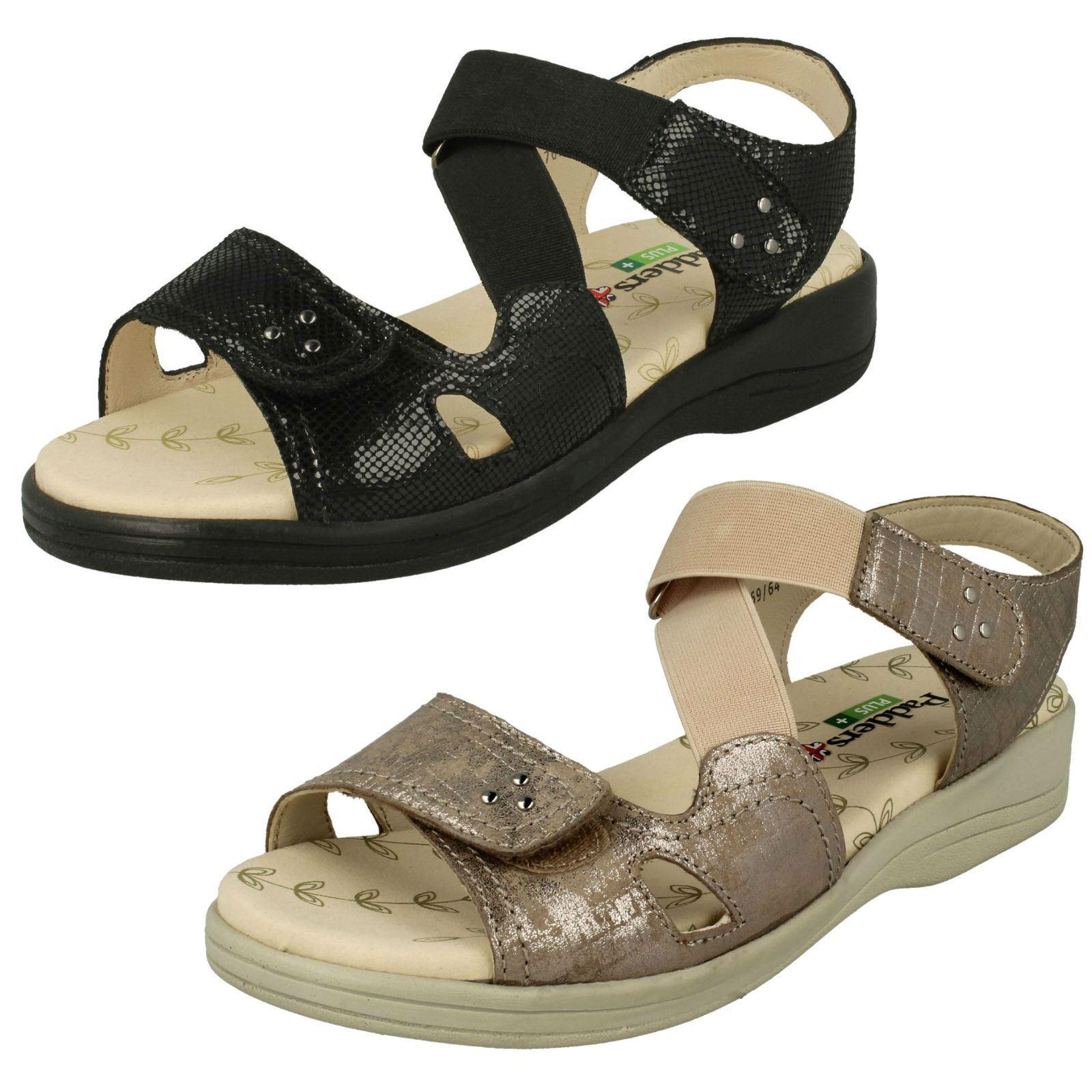 Ladies Padders Hook & Loop Fastening Sandals Cruise