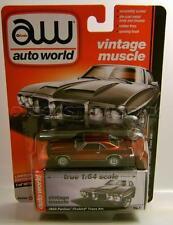 1969 '69 PONTIAC FIREBIRD TRANS AM ULTRA RED CHASE CAR AUTO WORLD DIECAST 2017