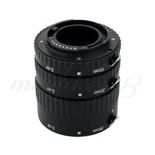 Meike MK-S-AF1-B Macro Auto Focus Extension Tube Ring Set AF for Sony Alpha DSLR