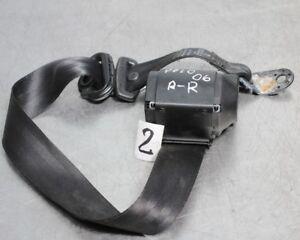 02-05 VW POLO 9N 5DR PASSENGER LEFT NEAR REAR SIDE SEAT BELT 6Q0857805 N//S//R