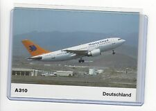 Hapag-Lloyd airlines A310 Airbus Deutschland pub. cont/l postcard