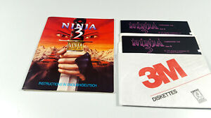 The-last-Ninja-3-by-System-3-Commodore-64-DISK-C64-Spiel-CIB-OVP-24h-only