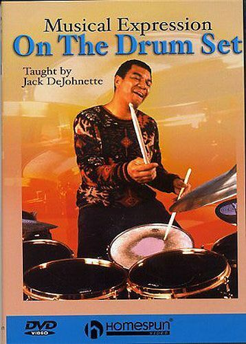 Musical Expression On The Drum Set Learn to Play Drummer Music DVD