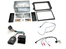 CONNECTS 2 ctksk 01 SKODA FABIA 2007 - 2014 COMPLETO Stereo Doppio DIN Kit di montaggio