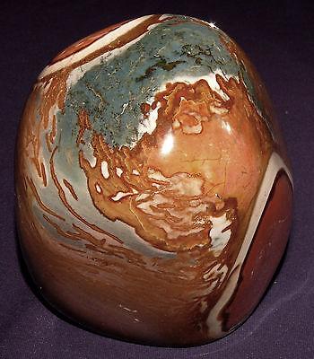 Stetig Skulptur Polychrome-jaspis Poliert 1047,3g 100x92x81mm , Heilstein Gute QualitäT