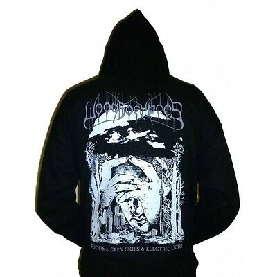 """NEW Grey Skies /& Electric Light/"""" Long Sleeve T shirt Woods Of Ypres /""""Woods 5"""