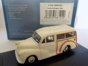 Morris-Traveller-Model-Cars-Oxford-Diecast