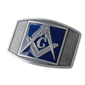 Men-039-s-Vintage-Freemason-Alloy-Metal-Fashion-Belt-Buckle-Western-Cowboy-Masonic