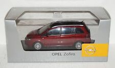 Minichamps OPEL ZAFIRA rotmetallic 1:43 in Box und OVP