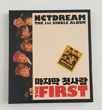 The  First: The 1st Single Album [EP] by NCT Dream (CD, Feb-2017)
