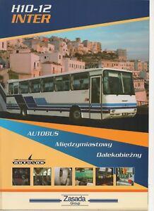 Autosan-H10-12-Inter-bus-made-in-Poland-1999-Prospekt-Brochure
