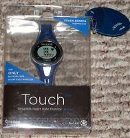 Oregon Scientific Gaiam Touch Strapless Heart Rate Monitor - Black Blue -