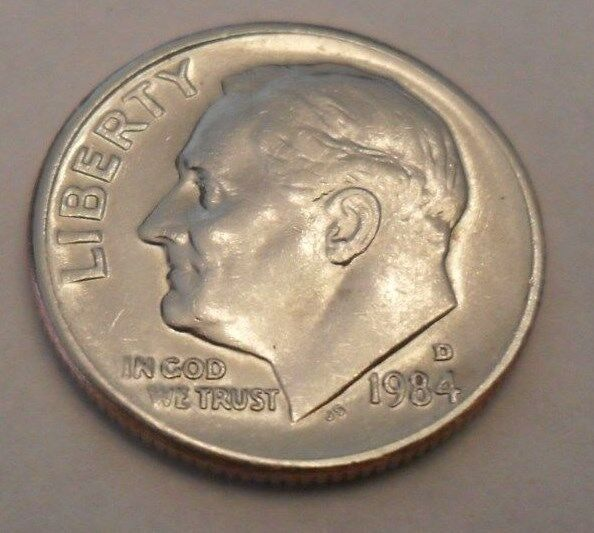 1984 D Roosevelt Dime  **FREE SHIPPING**