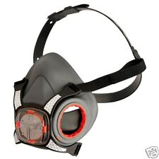 Dust Face Mask Genuine JSP Force 8 Half Mask, Safety PPE - Without Filters