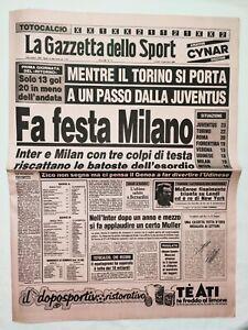 GAZZETTA-DELLO-SPORT-16-1-1984-MILAN-JUVENTUS-INTER-TORINO-JOHN-MCENROE-MASTERS