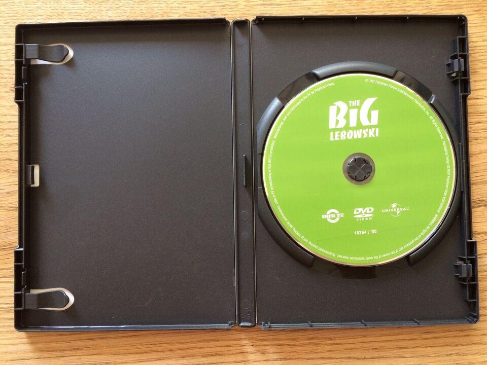 The Big Lebowski, instruktør Joel Cohen, DVD