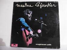 """33T Maxime LE FORESTIER Disque LP 12"""" ENREGISTREMENT PUBLIC - POLYDOR 2473033"""