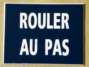 Plaque Gravée Rouler Au Pas Ft 150 X 75 Mm Axo1iqnm-07232234-573194385