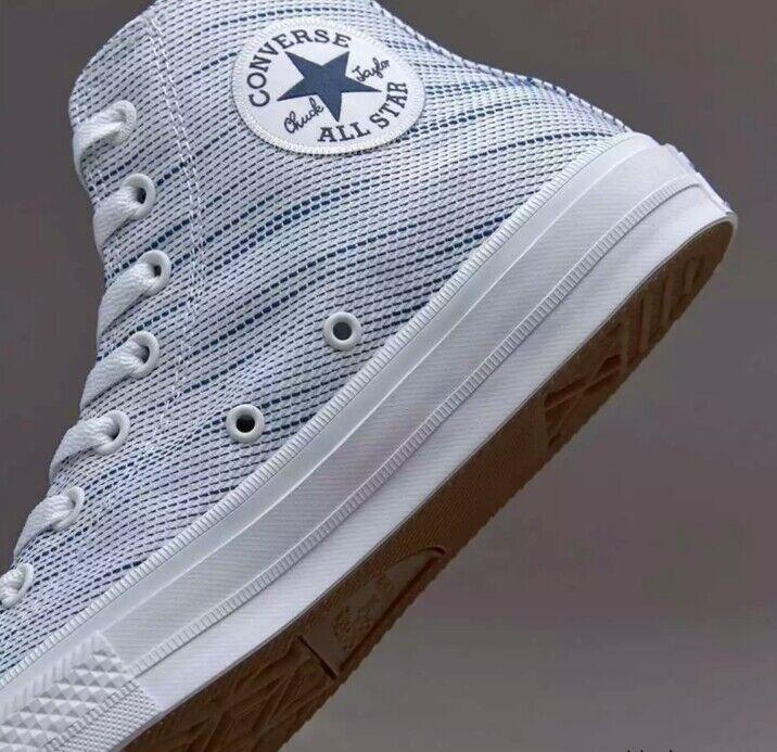 NEW CONVERSE CHUCK TAYLOR ALL STAR II 2 HI TOP LUNARLON blueE 151085C Sz 11