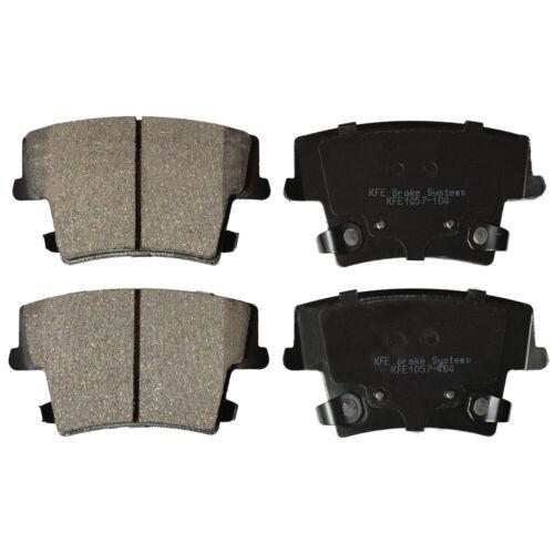 Ceramic Disc Brake Pad FRONT REAR Chrysler 300 Challenger Charger KFE1058-1057