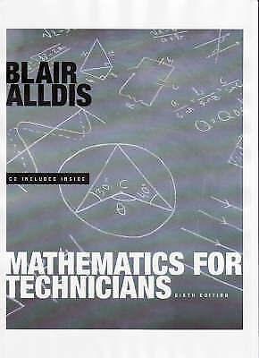 Mathematics for Technicians by Alldis, Blair K.