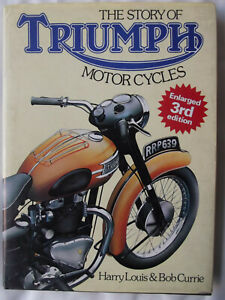 Story-of-Triumph-Motor-Cycles-Inglese-Copertina-rigida-1981-illustrato