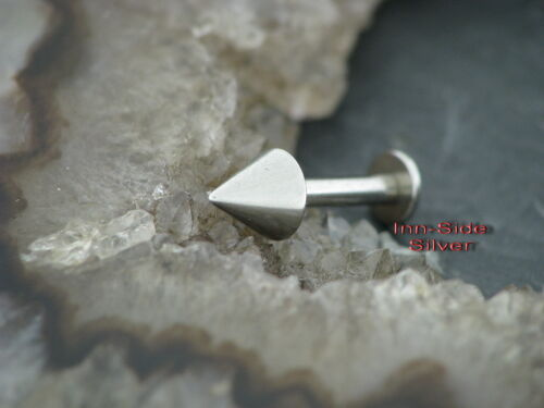Ohrpiercing TRAGUS Steel CONE 1,2MM Labret Ohrstecker
