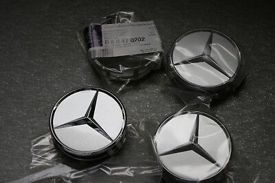 Alloy wheel Single Centre Cap Wheel Caps Mercedes Benz 4/x 60/mm Wheel Centre Cap Hub Cover Wheel Hub Caps Wheel Trims Hub Caps Chrome//Black