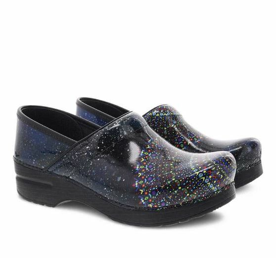 5eb7777e8173b NEW DANSKO Womens Twin Pro Tranquility Patent Leather Clogs 411110202